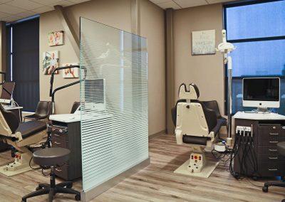 Rangewood Orthodontics - operatory, semi-private