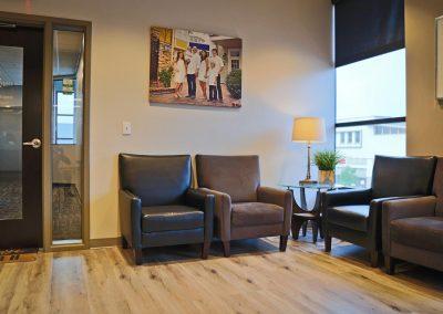 Rangewood Orthodontics - waiting area