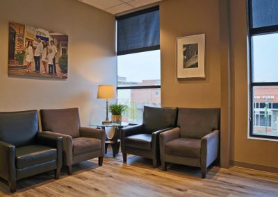 Rangewood Orthodontics - waiting area