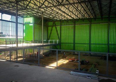 Criterion under construction - interior