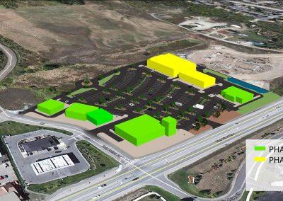 Silverthorne shopping center - Phase 2, 3D aerial