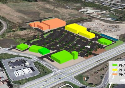 Silverthorne shopping center - Phase 3, 3D aerial