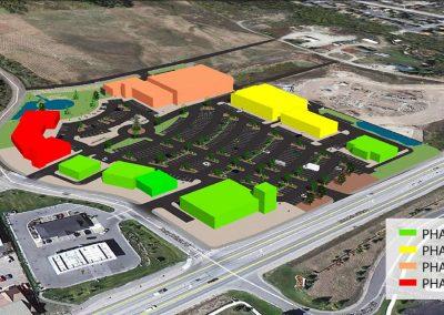 Silverthorne shopping center - Phase 4, 3D aerial