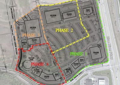 Silverthorne shopping center - phased concept plan