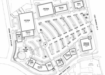 Silverthorne shopping center - site concept plan