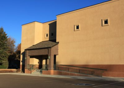 St. Peter Catholic School - gym, side entrance
