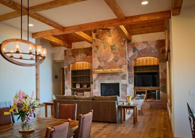 Mountain resort - dining & great room