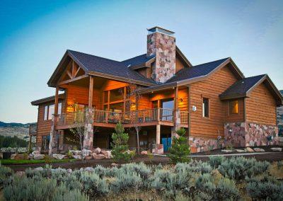 Mountain resort - exterior rear view