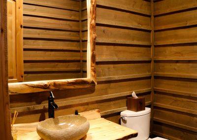 Mountain resort - powder bath