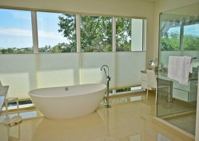 Florida Contemporary - master bath