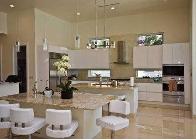 Florida Contemporary - kitchen