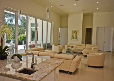 Florida Contemporary - great room