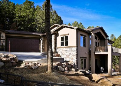 Spruce Mountain driveway