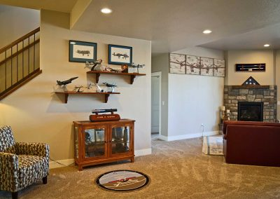 Spruce Mountain family room