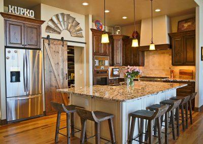 Spruce Mountain kitchen
