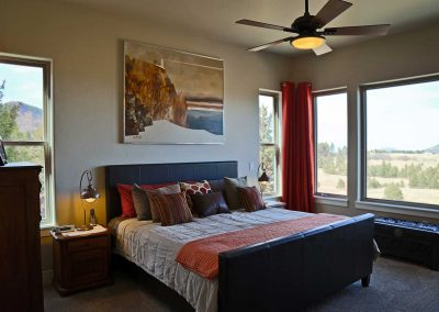 Spruce Mountain master bedroom