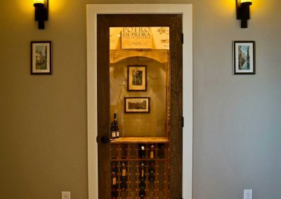 Spruce Mountain wine cellar