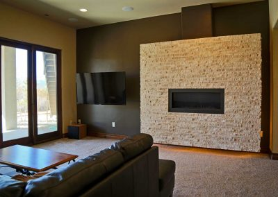 Tuscan Casual: family room