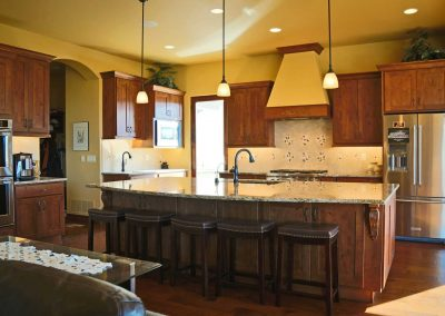 Tuscan Casual: kitchen