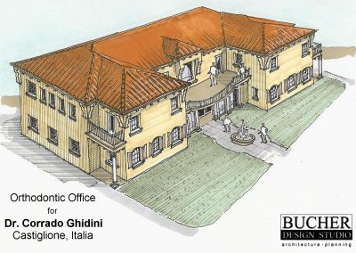 Dr. Ghidini: exterior concept sketch