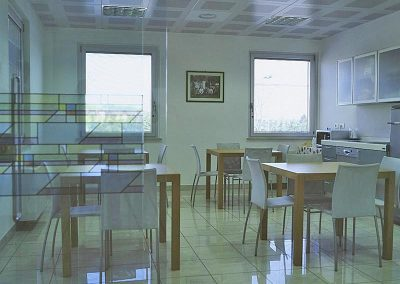 Dr. Ghidini: staff room