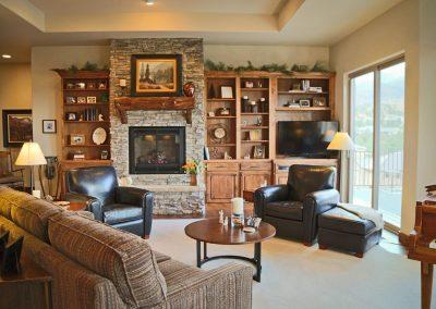Economic Elegance: great room