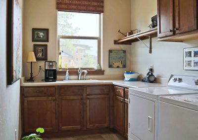 Economic Elegance: laundry room