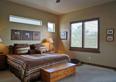 Economic Elegance: master bedroom