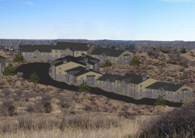 Uintah Bluffs: 3D site modeling (east view)