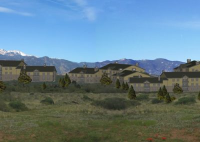 Uintah Bluffs: 3D site modeling (northwest view)