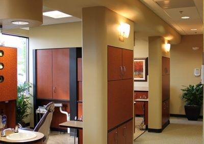 Esthetic Dentistry: operatory storage