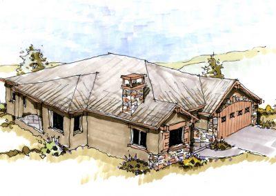 Broadview Terraces: exterior concept