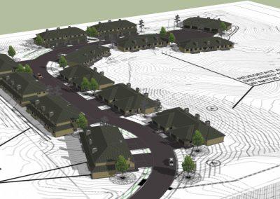 Uintah Bluffs: 3D grading model