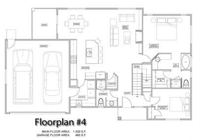Broadview Terraces: model option #4