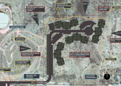 Uintah Bluffs: site plan