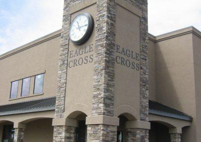 Eaglecross clock tower