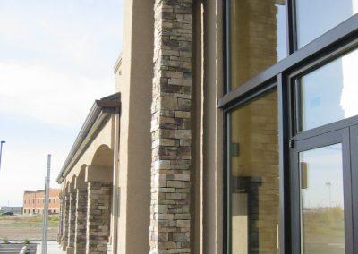 Eaglecross column detail