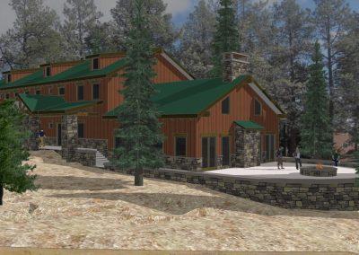 Ponderosa Retreat Center - outdoor patio