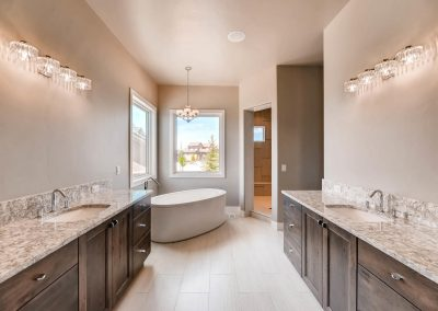 Flying Horse Contemporary - Master Bathroom