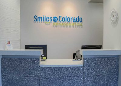 Smiles For Colorado - reception desk