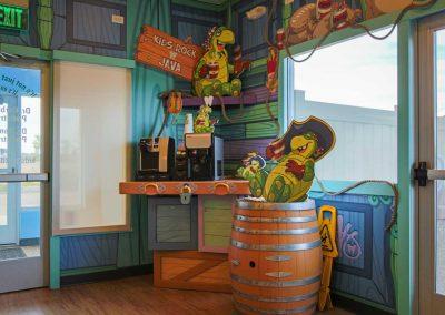 Kids Rock: coffee station