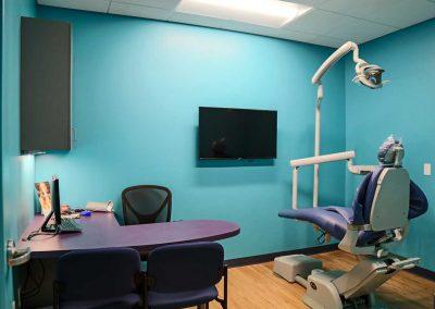 Kids Rock: consult room