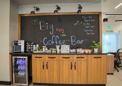 Bank of San Juans coffee bar