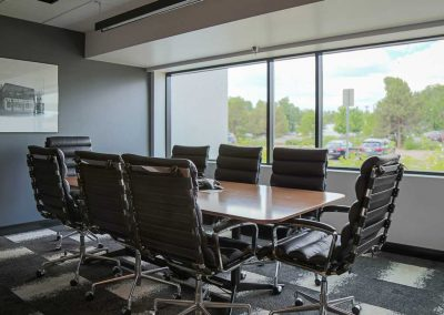 Bank of San Juans conference room for closings