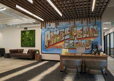 Bank of San Juans reception area