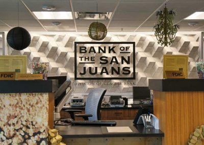 Bank of San Juans bank teller