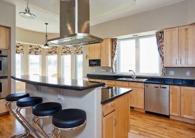 Family Friendly home: kitchen