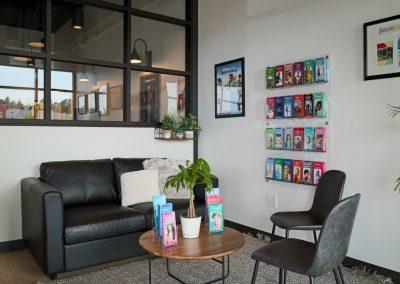 North Academy Chiroptractic - reception/community area